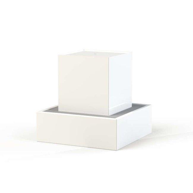 Waterblok aluminium 70 x 70 x 70 cm