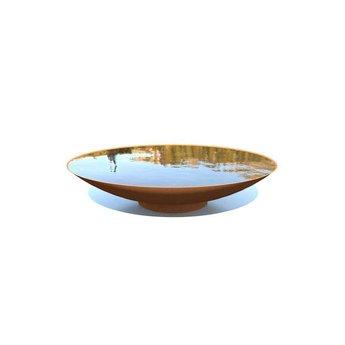Waterschaal cortenstaal 150 x 31 cm