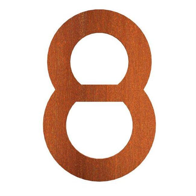 Cortenstaal 12 cm, nr. 8