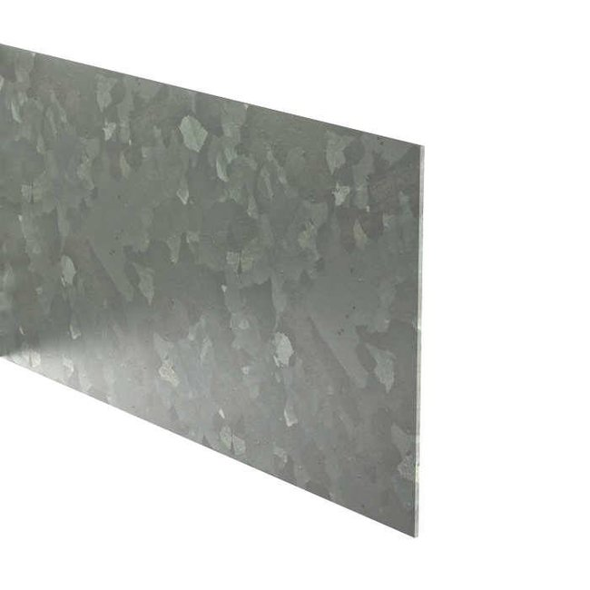 Kantopsluiting verzinkt recht 230 cm 3 mm (10 st )