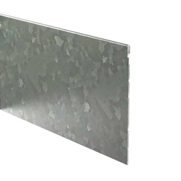 Kantopsluiting verzinkt geplet 230 cm 2 mm (10 st )