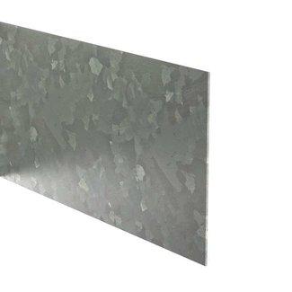 Kantopsluiting verzinkt recht 230 cm 2 mm (25 st )