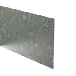 Kantopsluiting verzinkt recht 230 cm 2 mm (10 st )