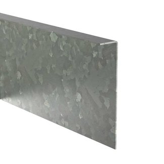 Kantopsluiting verzinkt gezet 230 cm 2 mm (10 st )