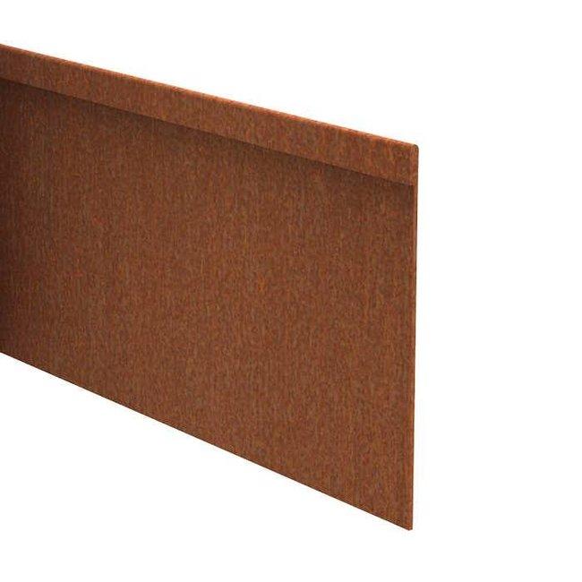Kantopsluiting cortenstaal geplet 230 cm 2 mm (10 st )