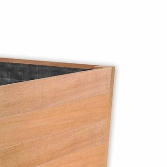 Sevilla 80x80x74 cm houten bloembak