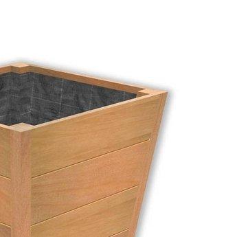 Sevilla 50x50x62 cm houten bloembak