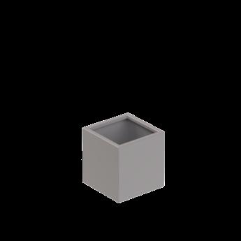 Senzzo Alu. plantenbak 37 x 37 x 40 lichtgrijs