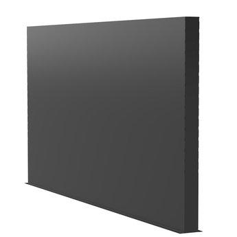 Tuinmuur aluminium 400 x 15 x h 200 cm