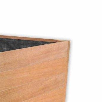 Sevilla 80x80x38 cm houten bloembak