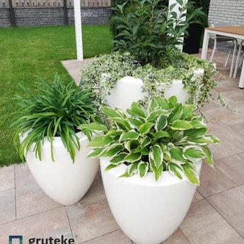 CANNA polyester 72x84 cm ronde plantenbak