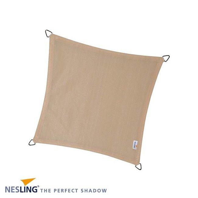 Nesling Coolfit 3.6 x 3.6 m gebroken wit schaduwdoek