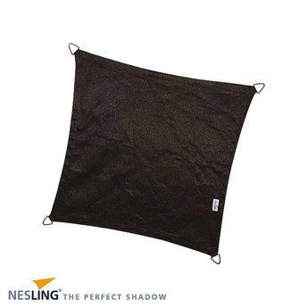 Nesling Coolfit 3.6 x 3.6 m zwart schaduwdoek