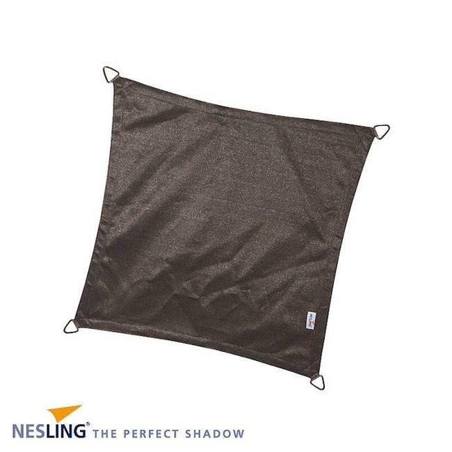 Nesling Coolfit 3.6 x 3.6 m antraciet schaduwdoek