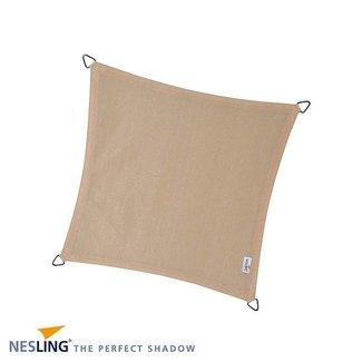 Nesling Coolfit 5 x 5 m gebroken wit schaduwdoek