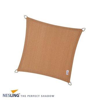 Nesling Coolfit 5 x 5 m zand schaduwdoek