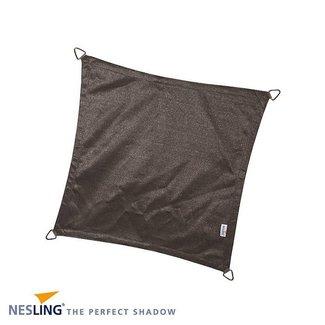 Nesling Coolfit 5 x 5 m antraciet schaduwdoek
