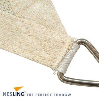 Nesling Coolfit 5 x 5 x 5 m gebroeken wit schaduwdoek
