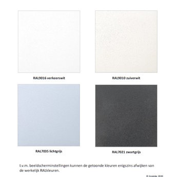 Tuinmuur polyester 300 x 15 x h 80 cm