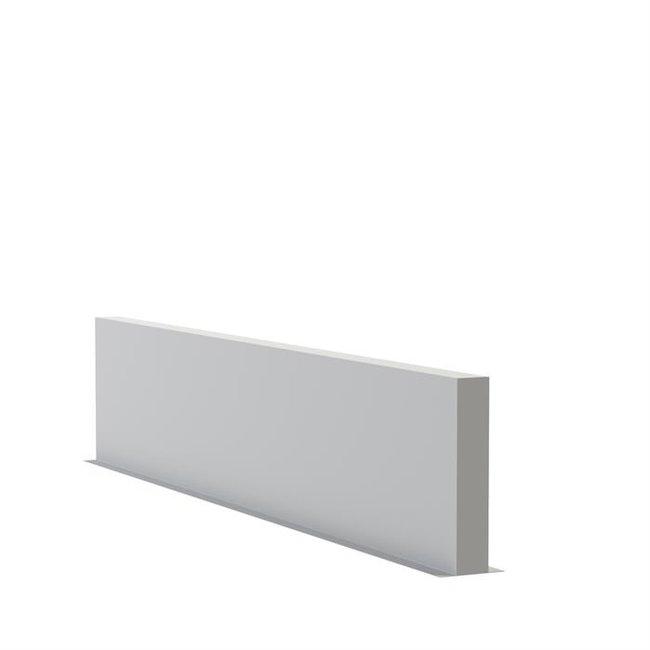 Tuinmuur polyester 400 x 15 x h 80 cm