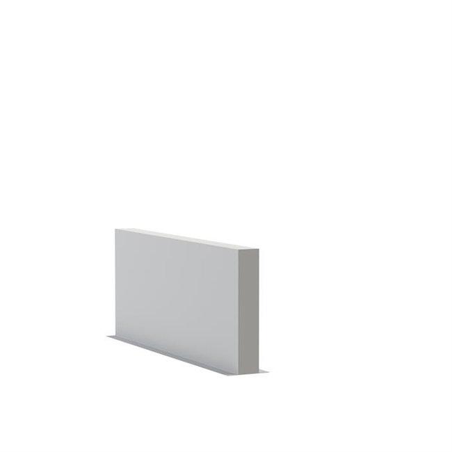 Tuinmuur polyester 200 x 15 x h 80 cm