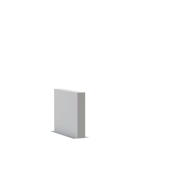 Tuinmuur polyester 100 x 15 x h 80 cm