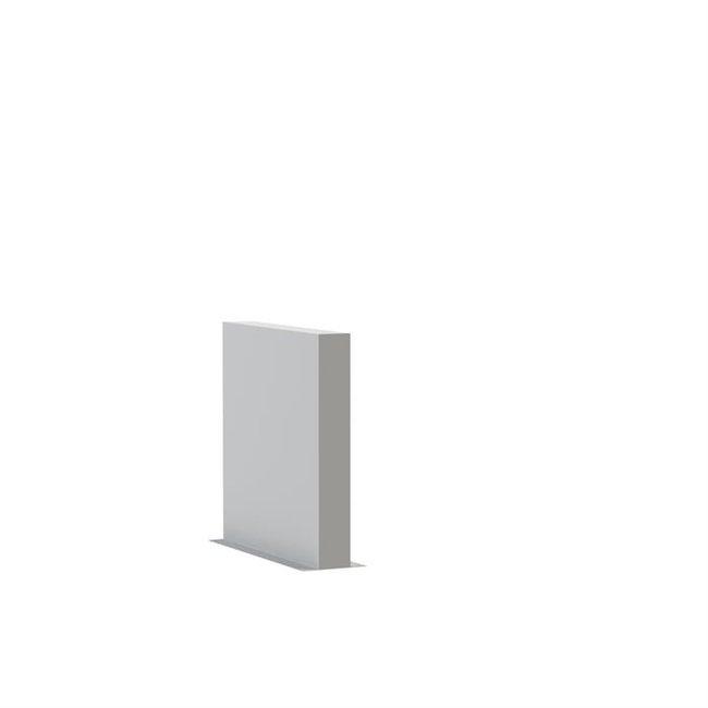 Tuinmuur polyester 100 x 15 x h 100 cm