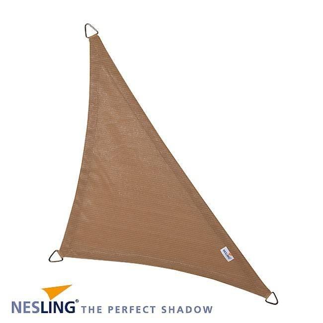 Nesling Coolfit 4 x 4 x 5.7 m zand schaduwdoek
