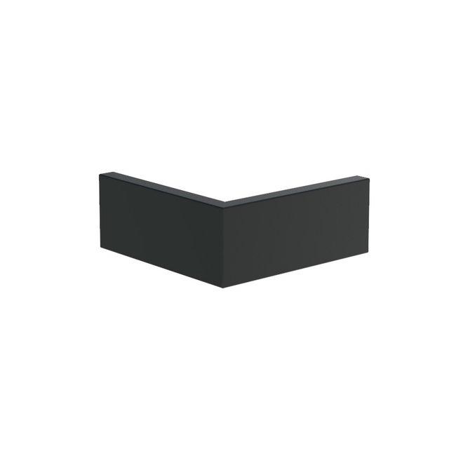 Keerwand aluminium 50 x 50  x 20 cm buitenhoek