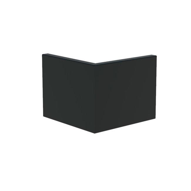 Keerwand aluminium 50 x 50 x 40 cm buitenhoek