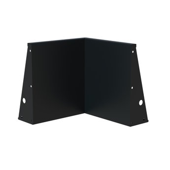 Keerwand aluminium 50 x 50 x 60 cm binnenhoek