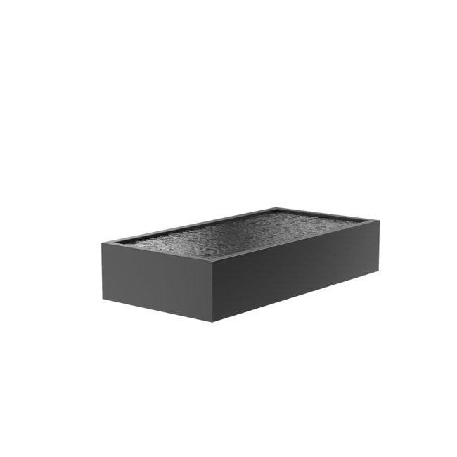 Vijver aluminium 300 x 150 x 60 cm