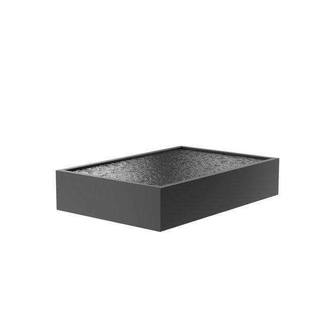 Vijver aluminium 300 x 200 x 60 cm