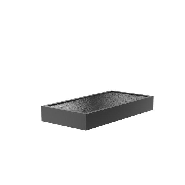 Vijver aluminium 300 x 150 x 40 cm
