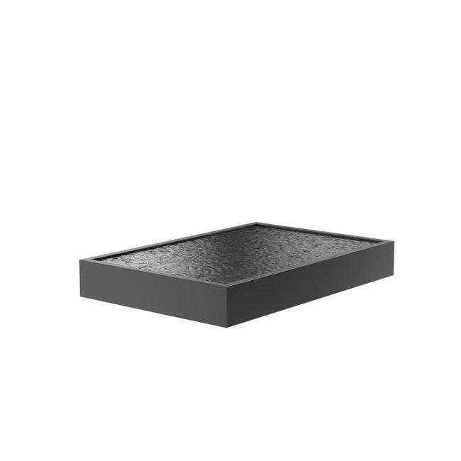 Vijver aluminium 300 x 200 x 40 cm
