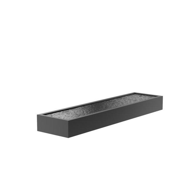 Vijver aluminium 400 x 100 x 40 cm