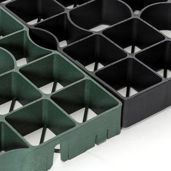 Ecco products ECCOdal® 40 ZWART grastegel