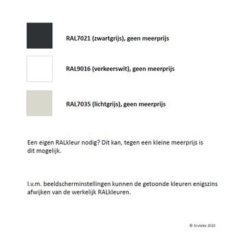 SYDNEY aluminium 80x60 cm plantenbak