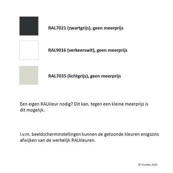 SYDNEY aluminium 60x100 cm plantenbak