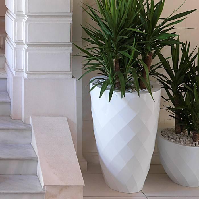 Plastic Bloempot Wit.Kunststof Bloempotten En Plantenbakken Tuinvoordeel Eu
