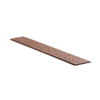 ECO-oh Ecolat BRUIN recht 14 cm x 10 mm, lengte 1.2 m, 4 st.