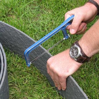 ECO-oh Ecolat GRIJS opgerold 19 cm x 7 mm, lengte 20 m.