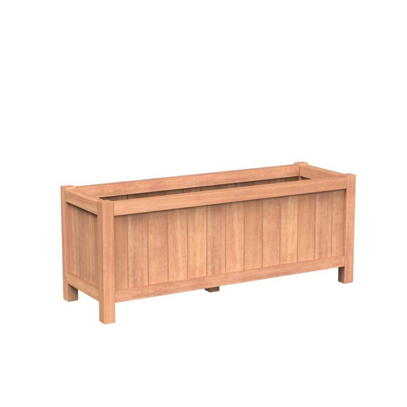 Valencia 150x50x60 cm houten bloembak