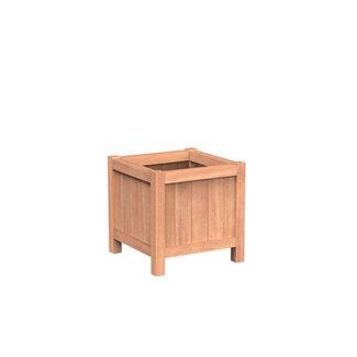 Valencia 60x60x60 cm houten bloembak