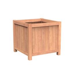 Valencia 100x100x95 cm houten bloembak