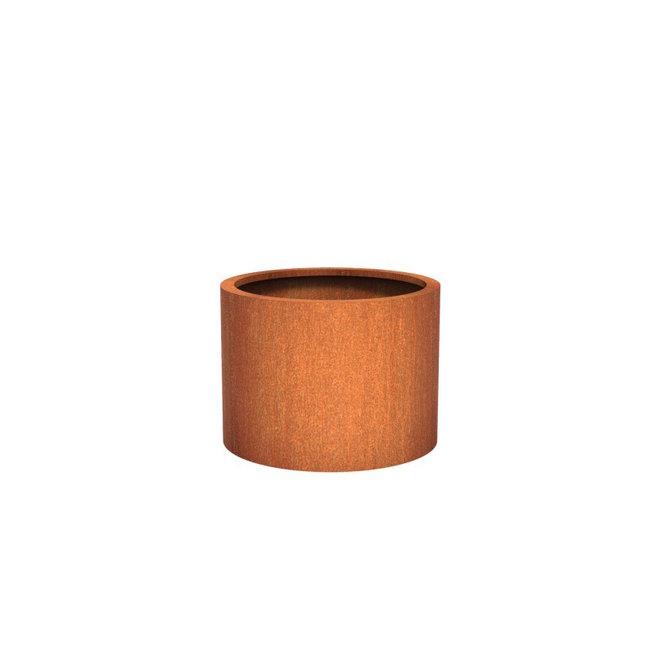 ATLAS cortenstaal 80x60 cm bloempot