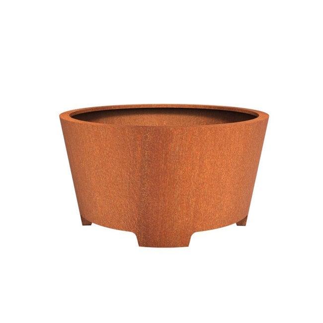 CADO cortenstaal 150x80 cm bloempot met poten