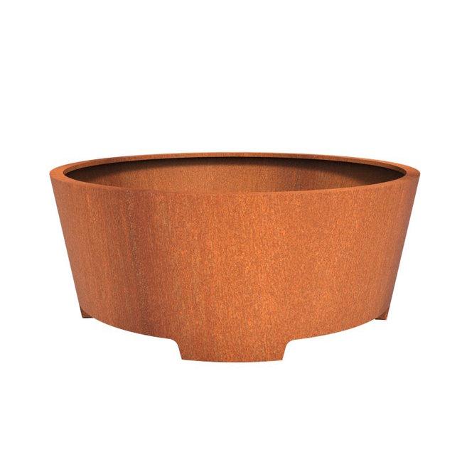 CADO cortenstaal 200x80 cm bloempot met poten