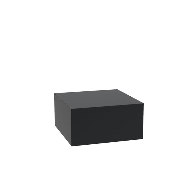 Sokkel aluminium 80x80x40 cm