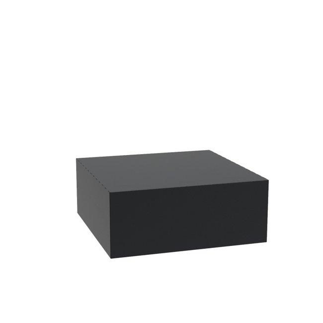 Sokkel aluminium 100x100x40 cm